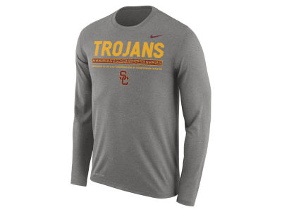 USC Trojans Nike NCAA Men's Legend Sideline Long Sleeve T-Shirt