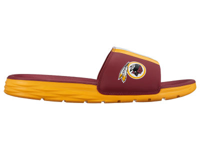 Washington Redskins Nike Men's Benassi Solarsoft Slide Sandals
