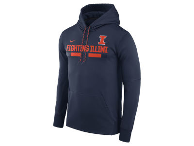Illinois Fighting Illini Nike NCAA Men's Therma-Fit Sideline Hoodie