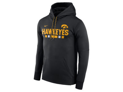 Iowa Hawkeyes Nike NCAA Men's Therma-Fit Sideline Hoodie