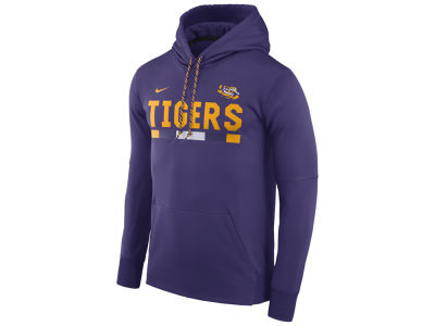 LSU Tigers Nike NCAA Men's Therma-Fit Sideline Hoodie