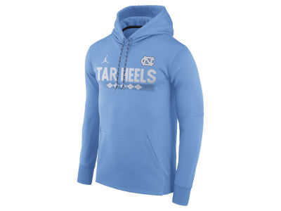 North Carolina Tar Heels Jordan NCAA Men's Therma-Fit Sideline Hoodie