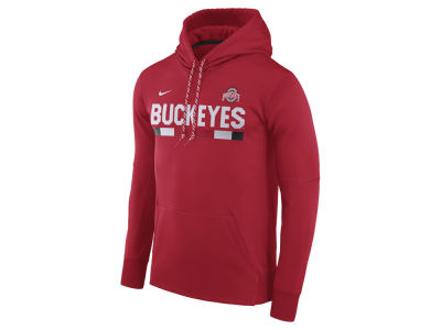 Ohio State Buckeyes Nike NCAA Men's Therma-Fit Sideline Hoodie