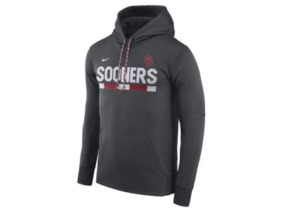 Oklahoma Sooners Nike NCAA Men's Therma-Fit Sideline Hoodie