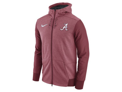 Alabama Crimson Tide Nike NCAA Men's Travel Full-Zip Hoodie