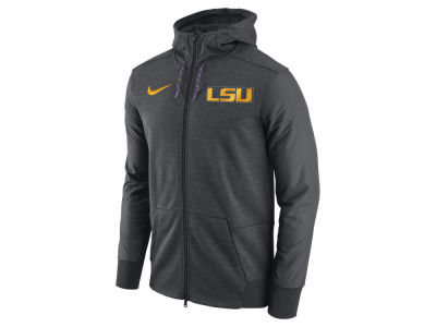 LSU Tigers Nike NCAA Men's Travel Full-Zip Hoodie