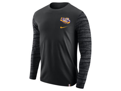 LSU Tigers Nike NCAA Men's Enzyme Long Sleeve T-Shirt