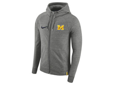 Michigan Wolverines Nike 2017 NCAA Men's Full-Zip Hoodie