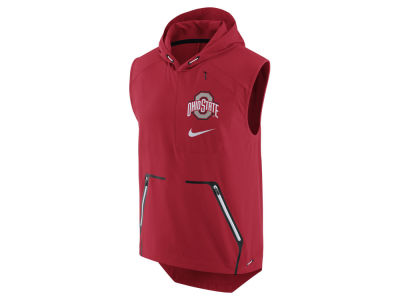 Ohio State Buckeyes Nike NCAA Men's Alpha Fly Rush Hooded Vest