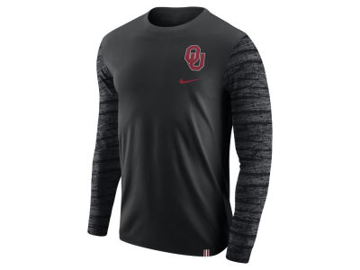 Oklahoma Sooners Nike NCAA Men's Enzyme Long Sleeve T-Shirt