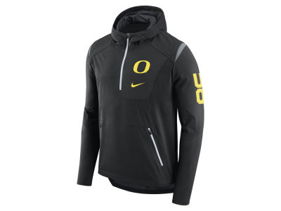 Oregon Ducks Nike NCAA Men's Alpha Fly Rush Quarter Zip Pullover