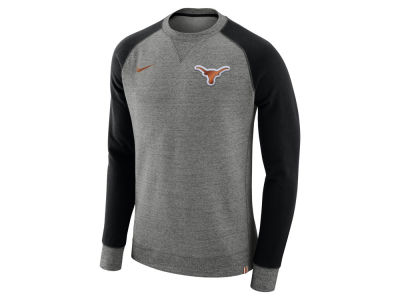 Texas Longhorns Nike 2017 NCAA Men's Crew Sweatshirt