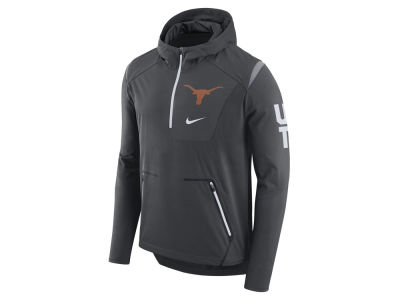 Texas Longhorns Nike NCAA Men's Alpha Fly Rush Quarter Zip Pullover