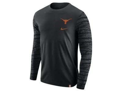 Texas Longhorns Nike NCAA Men's Enzyme Long Sleeve T-Shirt