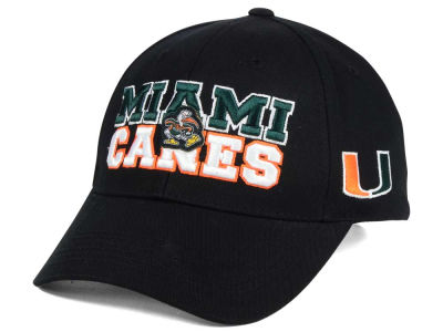 Miami Hurricanes 2 for $28 Top of the World NCAA Teamwork Cap