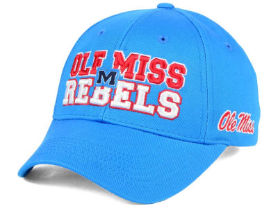 Ole Miss Rebels Top of the World NCAA Teawmork Cap