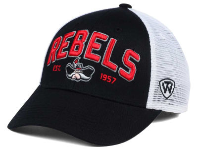 UNLV Runnin Rebels 2 for $28 Top of the World NCAA Black Mesh Teamwork Snapback Cap