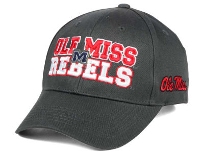 Ole Miss Rebels 2 for $28 Top of the World NCAA Charcoal Teamwork Snapback Cap