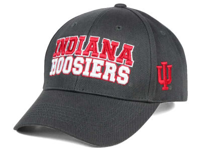 Indiana Hoosiers 2 for $28 Top of the World NCAA Charcoal Teamwork Snapback Cap