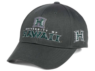 Hawaii Warriors NCAA 2 for $28 Top of the World NCAA Charcoal Teamwork Snapback Cap