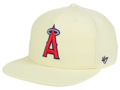 Los Angeles Angels '47 MLB '47 Natural No Shot Snapback Cap
