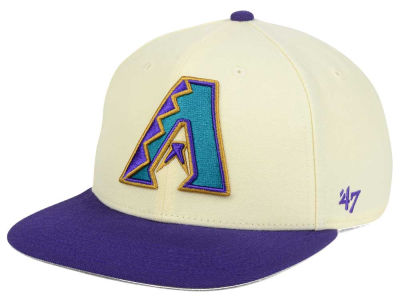 Arizona Diamondbacks '47 MLB '47 Natural No Shot Snapback Cap