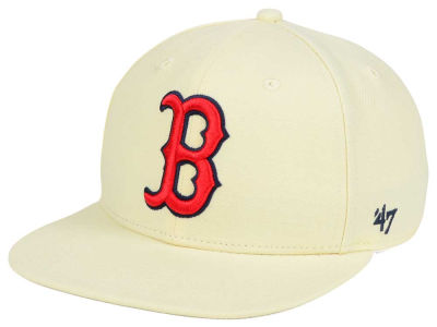 Boston Red Sox '47 MLB '47 Natural No Shot Snapback Cap