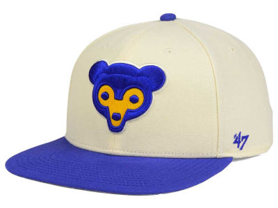 Chicago Cubs '47 MLB '47 Natural No Shot Snapback Cap