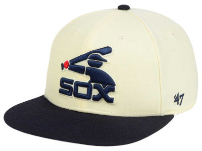 Chicago White Sox '47 MLB '47 Natural No Shot Snapback Cap
