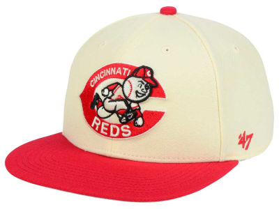 Cincinnati Reds '47 MLB '47 Natural No Shot Snapback Cap