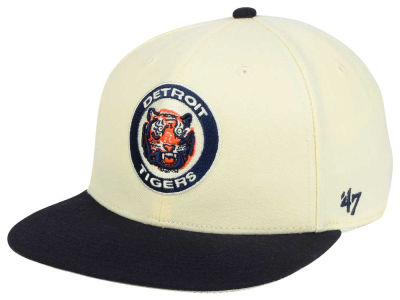 Detroit Tigers '47 MLB '47 Natural No Shot Snapback Cap