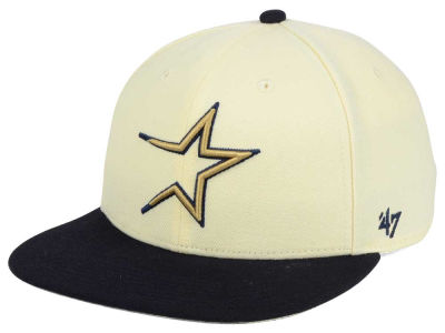 Houston Astros '47 MLB '47 Natural No Shot Snapback Cap