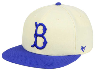 Brooklyn Dodgers '47 MLB '47 Natural No Shot Snapback Cap