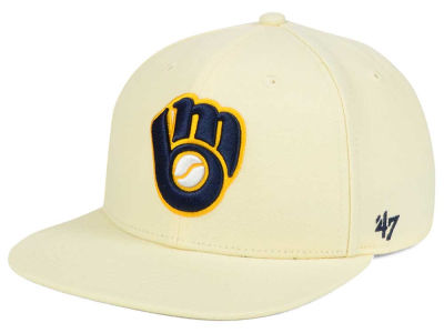 Milwaukee Brewers '47 MLB '47 Natural No Shot Snapback Cap