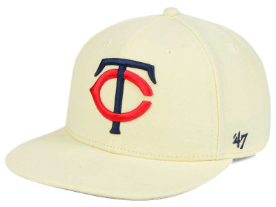 Minnesota Twins '47 MLB '47 Natural No Shot Snapback Cap