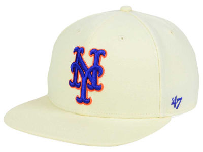 New York Mets '47 MLB '47 Natural No Shot Snapback Cap