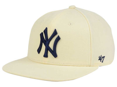 New York Yankees '47 MLB '47 Natural No Shot Snapback Cap