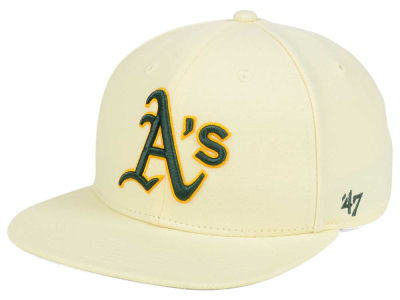 Oakland Athletics '47 MLB '47 Natural No Shot Snapback Cap