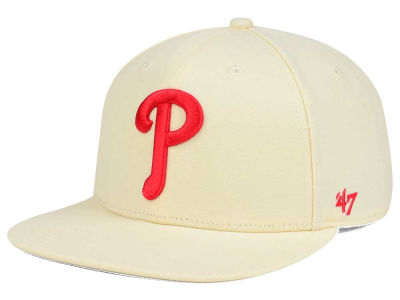 Philadelphia Phillies '47 MLB '47 Natural No Shot Snapback Cap
