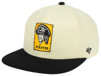 Pittsburgh Pirates '47 MLB '47 Natural No Shot Snapback Cap