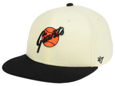 San Francisco Giants '47 MLB '47 Natural No Shot Snapback Cap
