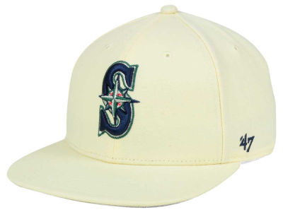 Seattle Mariners MLB '47 Natural No Shot Snapback Cap