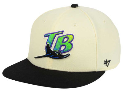 Tampa Bay Rays '47 MLB '47 Natural No Shot Snapback Cap