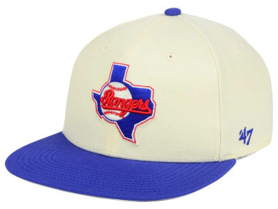 Texas Rangers '47 MLB '47 Natural No Shot Snapback Cap