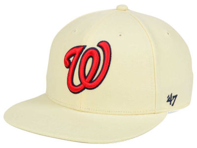 Washington Nationals '47 MLB '47 Natural No Shot Snapback Cap
