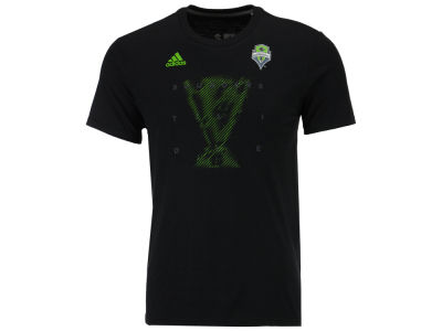 Seattle Sounders FC adidas MLS 2016 Men's Cup Saying T-Shirt