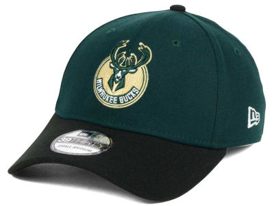 Milwaukee Bucks New Era NBA Team Classic 39THIRTY Cap