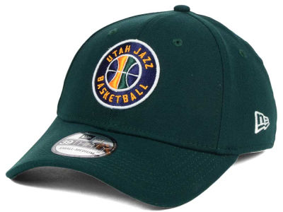 Utah Jazz New Era NBA Team Classic 39THIRTY Cap