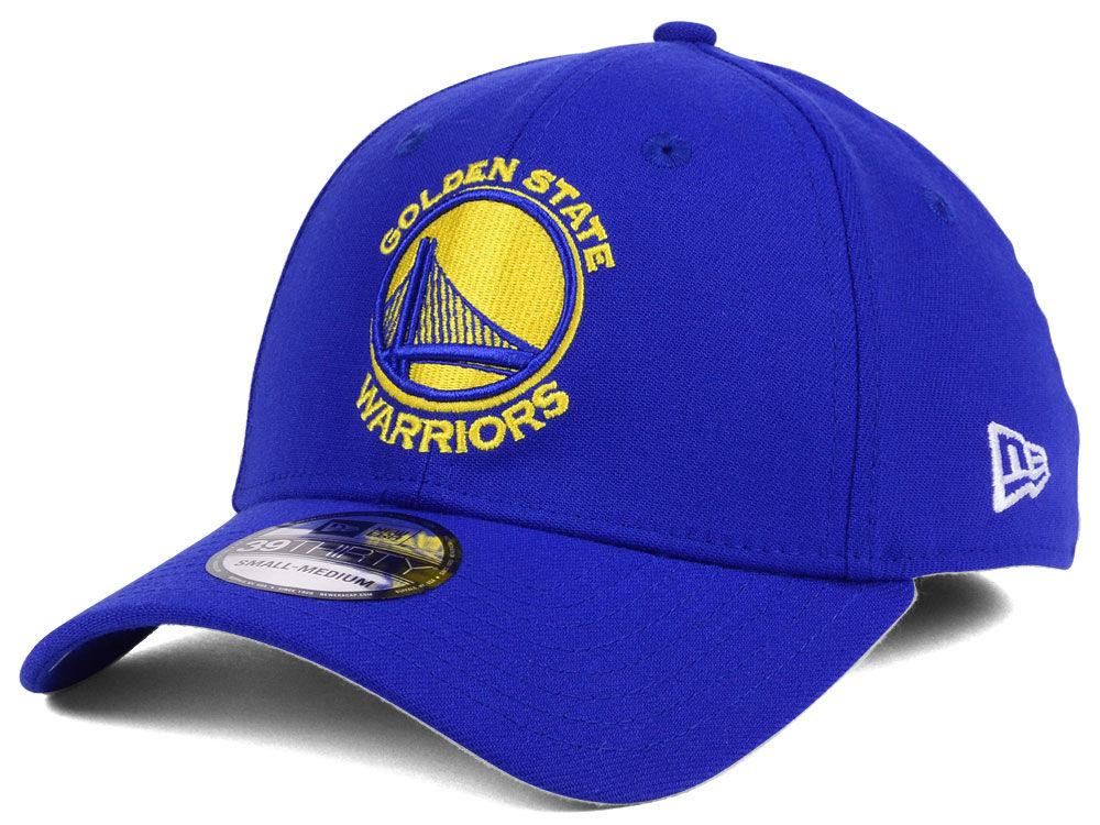 Golden State Warriors New Era NBA Team Classic 39THIRTY Cap  875729a6806