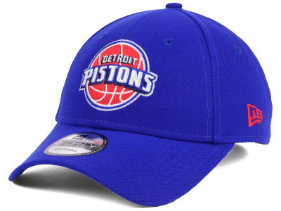 Detroit Pistons New Era NBA League 9FORTY Adjustable Cap
